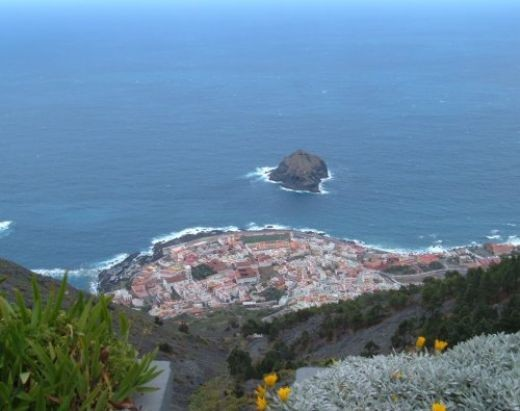 View over Garachico. Photo by Steve Andrews