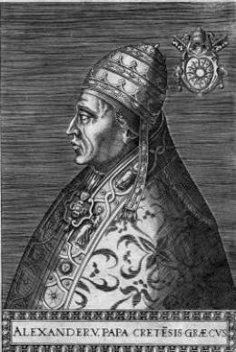 POPE ALEXANDER V (1409-1410)