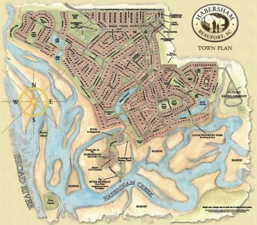 Habersham SC Town Plan