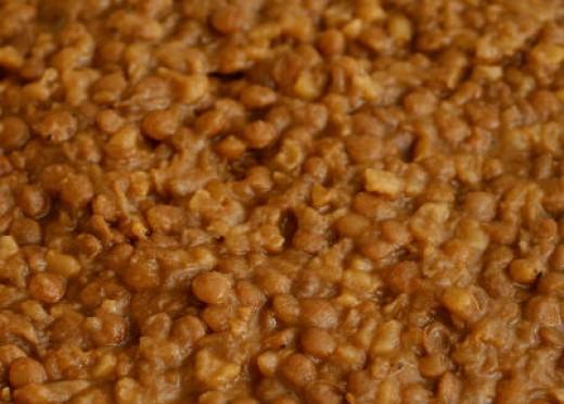 Mujadara - Lebanese Lentils