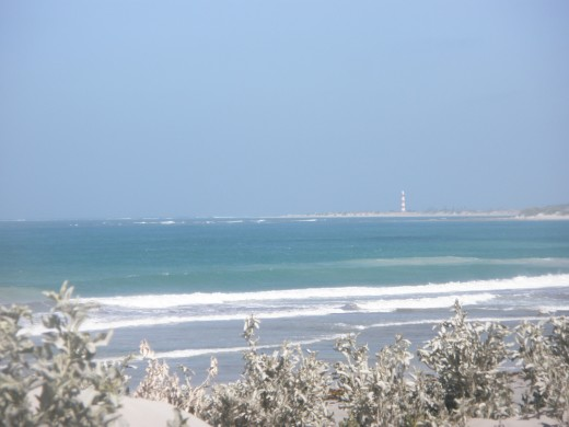 The Geraldton lighthouse, its familiar light I will see from a long distance for a long time.