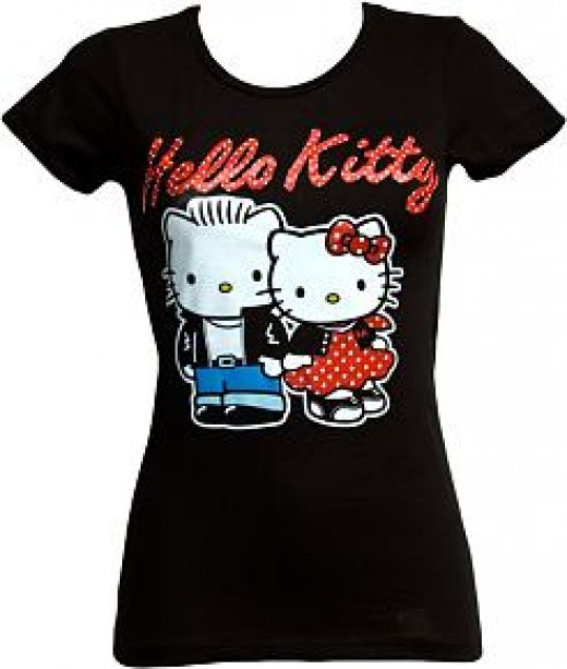 Hello Kitty Shirts For Girls: Hello Kitty T-Shirts For Girls