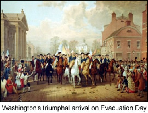 Evacuation Day Commemorates The British Retreat Of Boston And George Washington's First Victory of the Revolutionary War