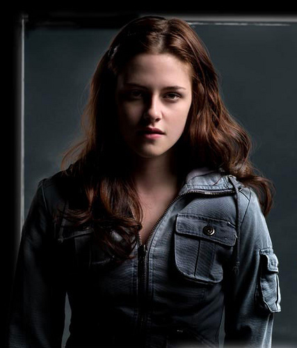 Bella Swan played by Kristen Stewart