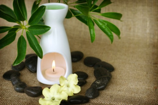 Aromatherapy can be a great way to relieve headaches, stuffy noses and sore throats associated with colds.