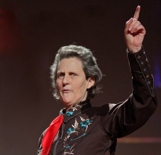 Temple Grandin at the 2010 TED Conference
