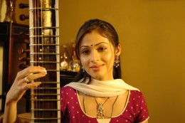 Sadha Play a Music insturment