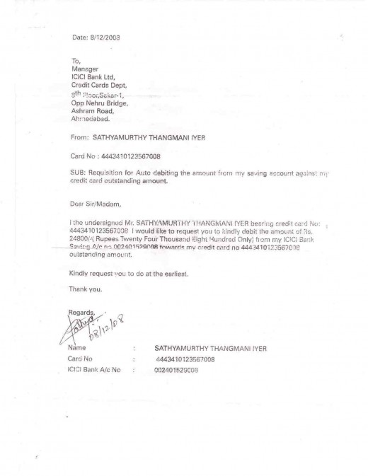 Letter of account liened by bank without any intimation.