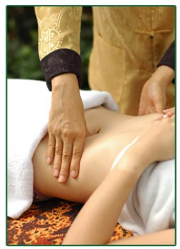 Clove Oil Massage
