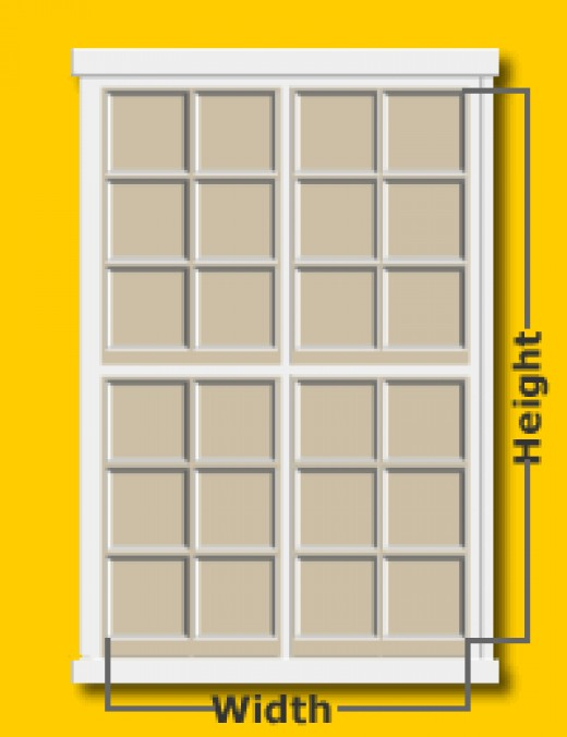 How to measure for exterior window shutters - Measure exterior window shutters ...