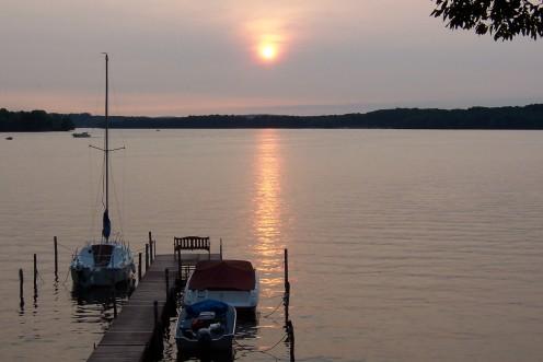 Chautauqua Lake Sunset