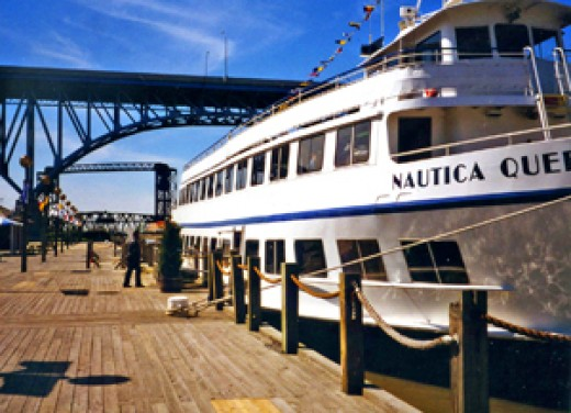 The Nautica Queen, Cleveland, Ohio