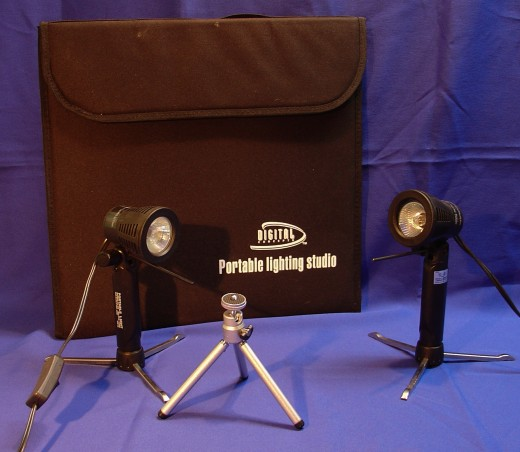 PS-101 Portable Lighting Studio