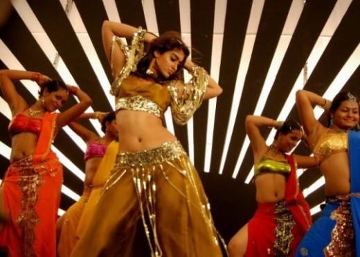 Ileana in dance shootup telugu movie