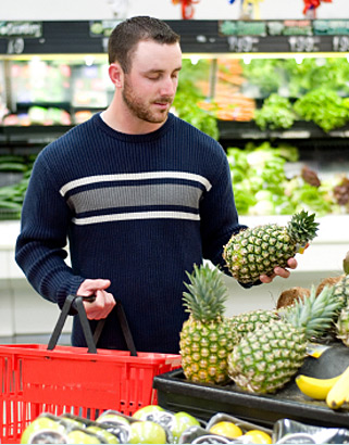 """I'd better buy extra pineapples for the garnishes for our drinks tonight!"""
