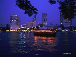 Night view in Bangkok