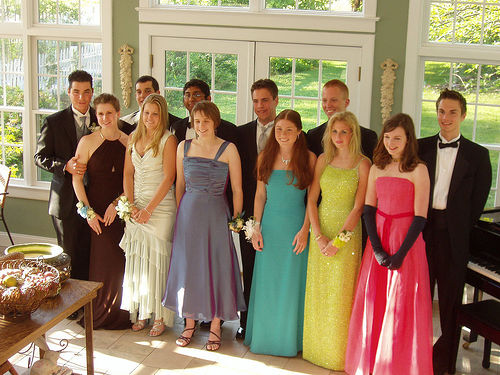 Photo credit: Wikimedia Commons-Couples ready for Prom Night