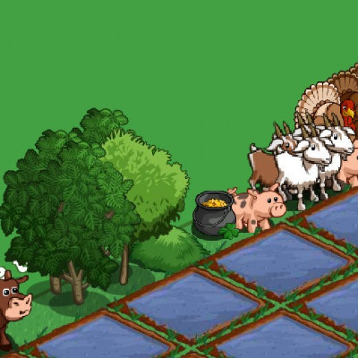 A screenshot of the new items given in the mystery gift like Ossabaw pig, Saanens Goat, breadfruit tree, grass pile and almond tree.