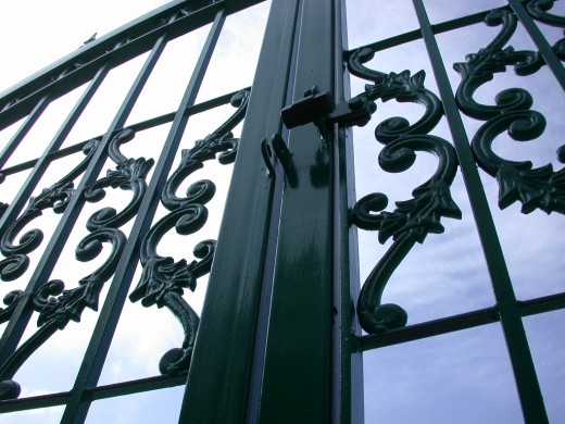 Electric Gates come in many styles.