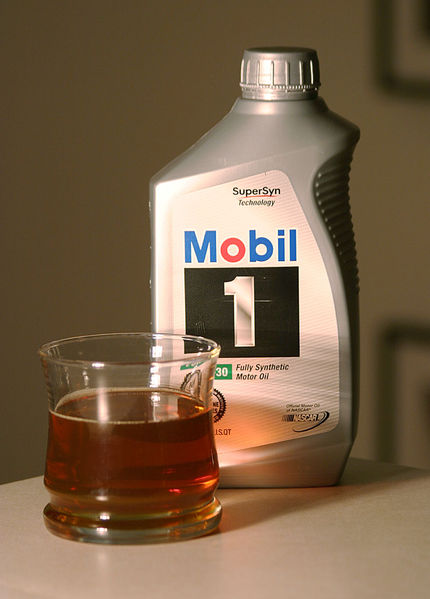 Clean Oil is Light Golden Brown (Wikipedia)