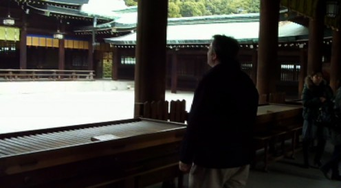 The author pays his respects to the Emperor and Empress