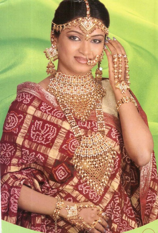 Jewelry is one of the most important aspects of Indian bridal trousseau