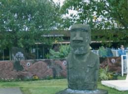 Mataveri Airport in Easter Island