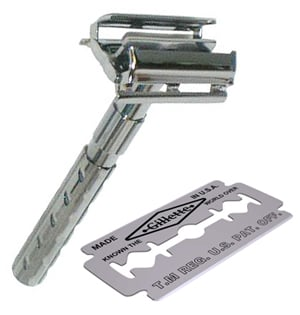 Safety Razor and Blade