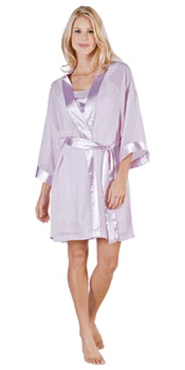 White short robe - photo credit: pajamagram.com