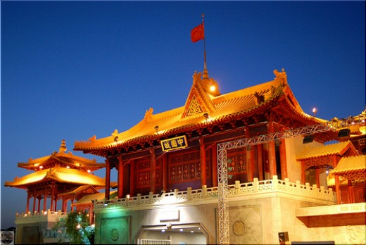 Chinese pavilion in DSF