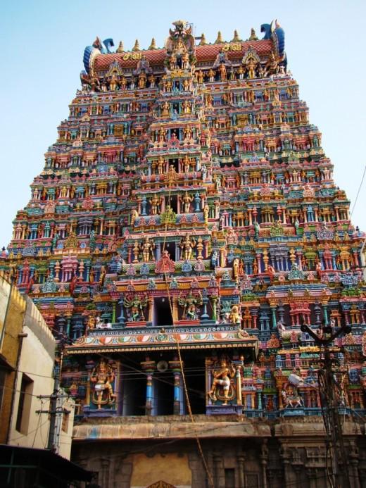 West Gopuram