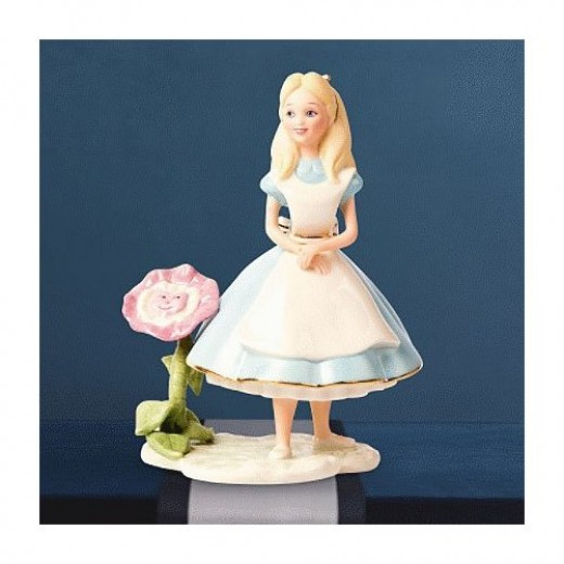 Lenox Alice and Wonderland Figurine via: Amazon