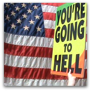 The movement believes that the American lifestyle will lead to hell.