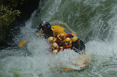 Adrenaline by the Boat load, white water rafting!