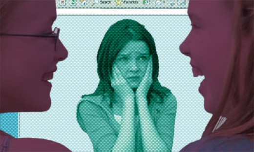 On the Internet: a bully in a whole new light