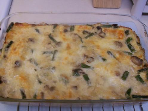 Asparagus Lasagna