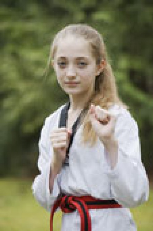 Martial Arts will raise your child's self esteem.