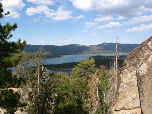 Castle Rock Trail, Big Bear, Ca.I took this photo while hiking upwards.
