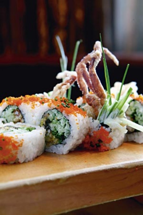 Sushi--good source of resistant starch and so yummy...
