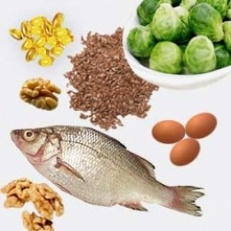 Examples of foods that contain Omega-3 unsaturated fats