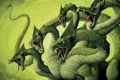 Hydra The Multi-headed, Serpent Dragon