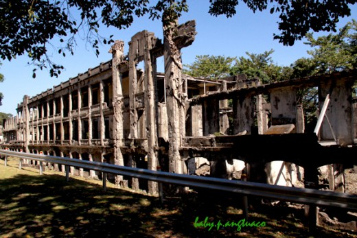 Ruins of barracks