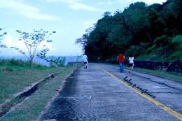 Follow a walkway