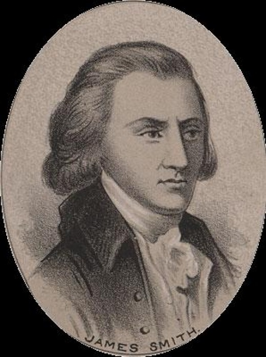 Public domain picture courtesy of WikiPedia.org ( http://en.wikipedia.org/wiki/File:James_Smith_(1700s).png )