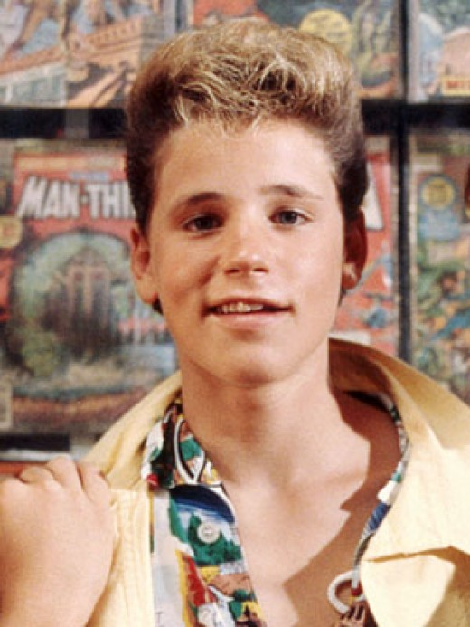 Corey Haim from Lost Boys