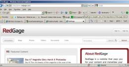 redgage.com's verified Page Rank