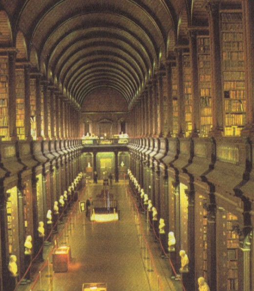 Trinity College Library, Great Room, Dublin