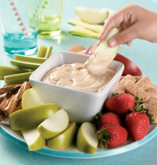 Healthy snacks for kids and children