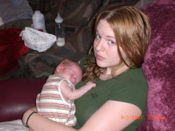 Although the pregnancy was hard-he was worth every ounce of pain.