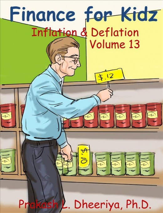 Finance For Kidz: Volume 13: Inflation & Deflation